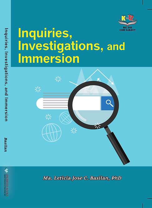 Inquiries, Investigations, and Immersion