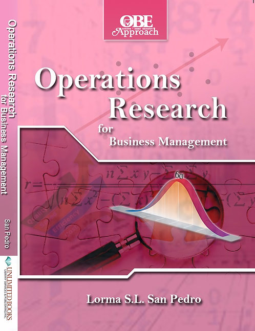 Operations Research for Business Management