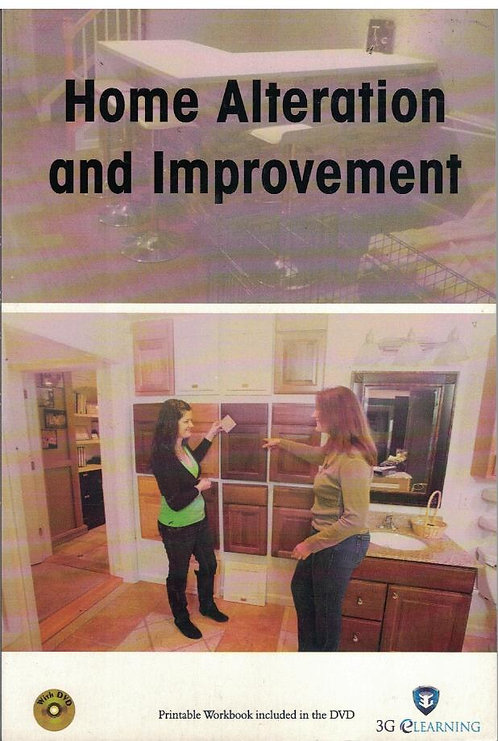 Home Alteration and Improvement (3G eLearning)