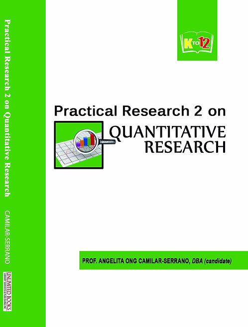 Practical Research 2 on Quantitative Research