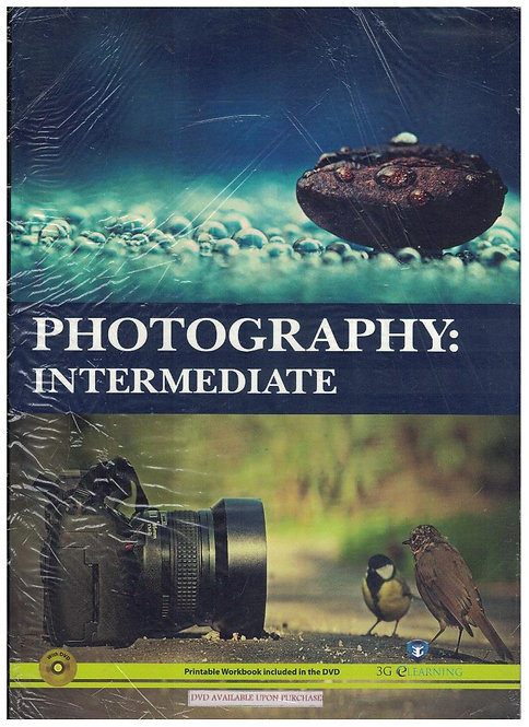 Photography: Intermediate (3G e-Learning)