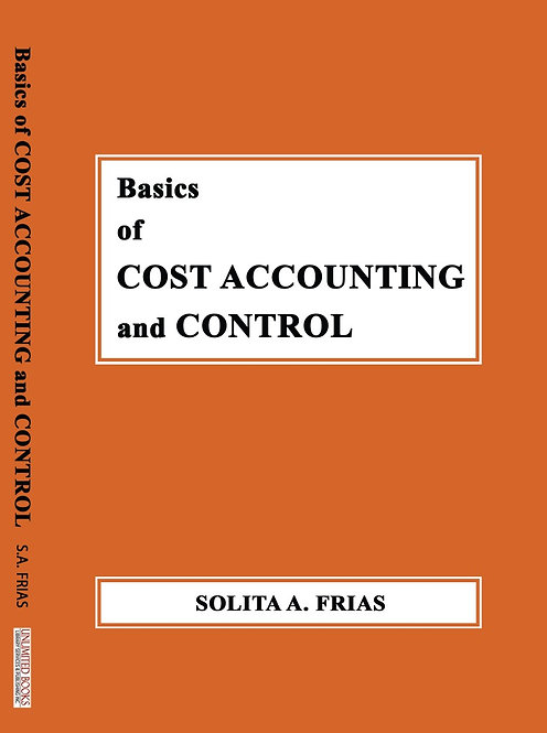 Basics of Cost Accounting and Control