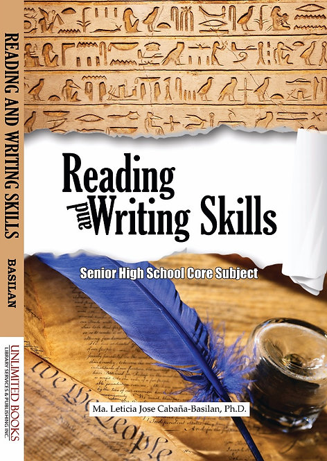Reading and Writing Skills for Senior High School
