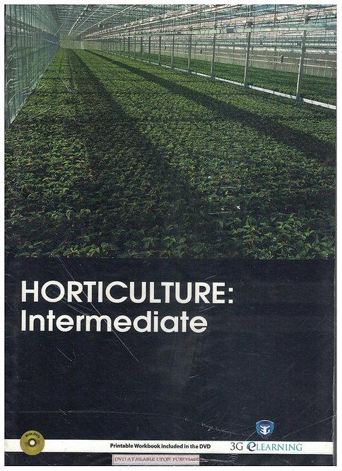 Horticulture: Intermediate (3G e-Learning)