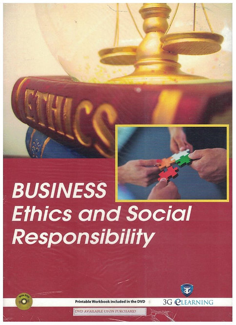 Business Ethics and Social Responsibility (3G e-Learning)