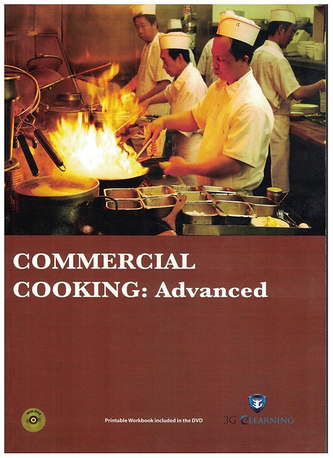 Commercial Cooking: Advanced (3G e-Learning)