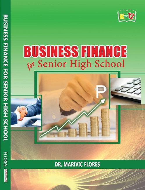 Business Finance for Senior High School
