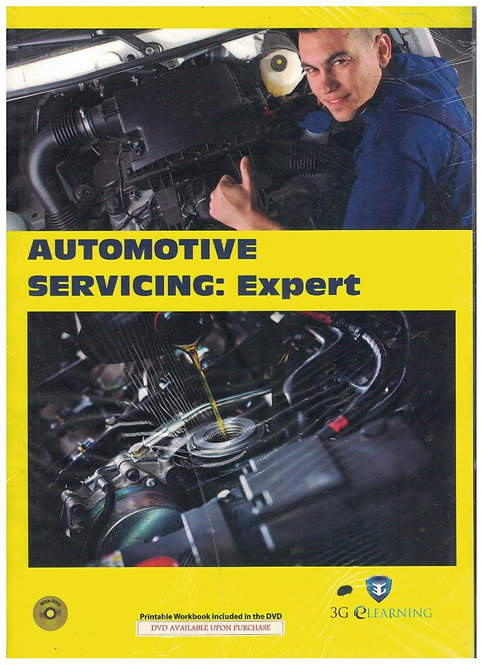 Automotive Servicing: Expert  (3G e-Learning)