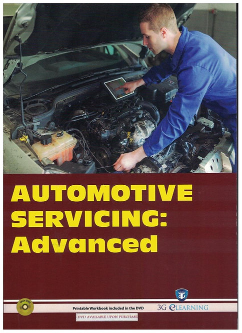 Automotive Servicing: Advanced (3G e-Learning)