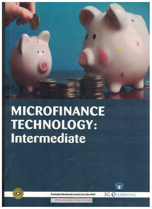 Microfinance Technology: Intermediate (3G e-Learning)