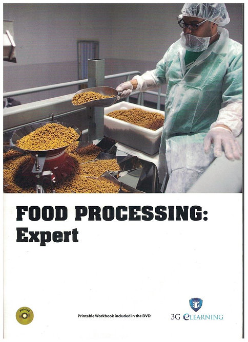Food Processing: Expert (3G e-Learning)