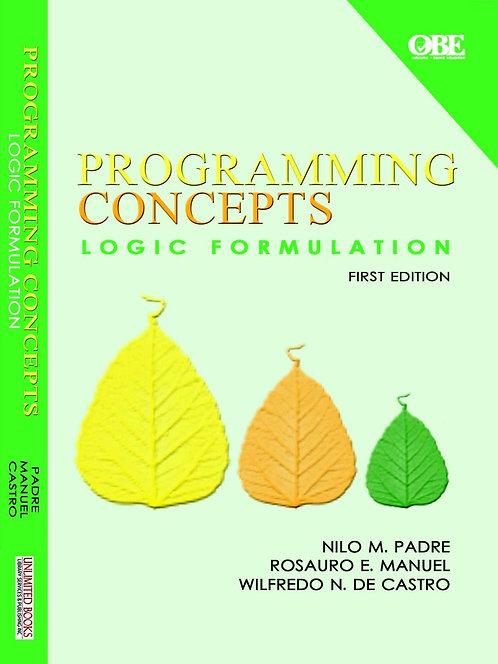 Programming Concepts Logic Formulation