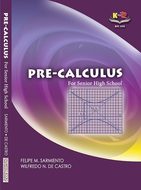 Pre-Calculus for Senior High School
