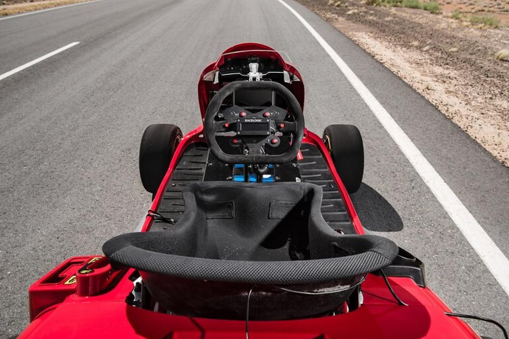 Honda Mean Mower Cockpit