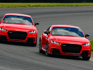 Our Pro Racer, Andy Pilgrim, and Hans Stuck Have Fun with 2018 Audi TT RS