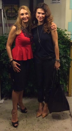 Vio and Monica Barladeanu