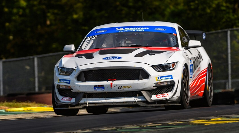 Hot-Lapping the Mustang GT4 Racer