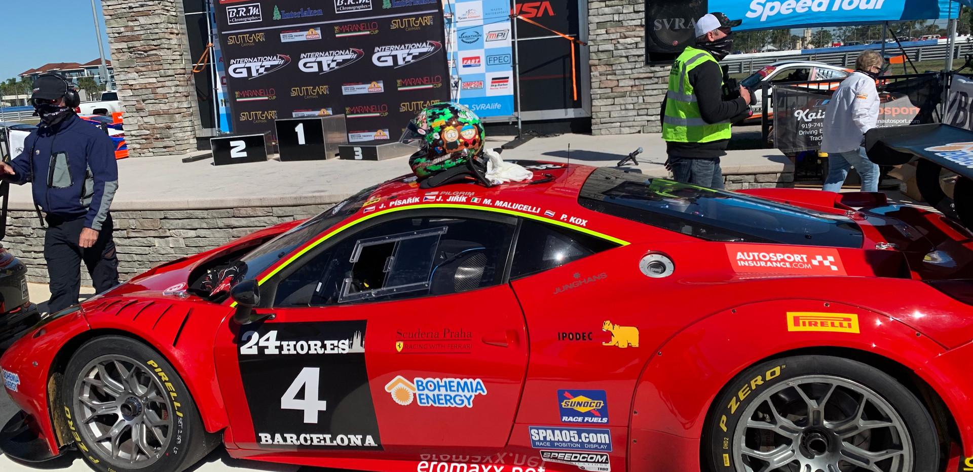 GT3 Ferrari IGT/SVRA at Sebring