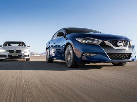 Four Seasons 2016 Nissan Maxima SR vs. 2016 BMW 340i