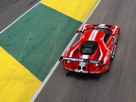 Whoa: We Drive Ford's GT Le Mans Race Car and Mustang GT4 Racer!