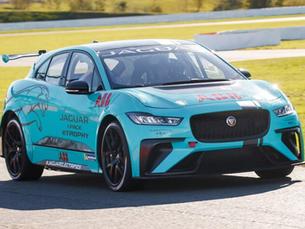 Our Pro Racer Tests the Jaguar I-Pace eTrophy Race Car