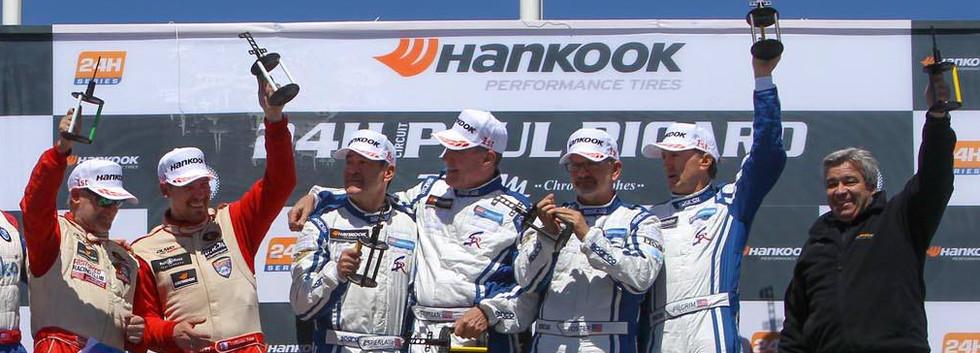 2017 Season Circuit Paul Ricard Podium