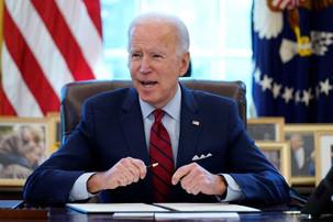 Zero in on Capitol Hill goes to passing Biden's $1.9 trillion Coronavirus help bill