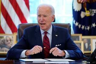 Zero in on Capitol Hill goes to passing Biden's $1.9 trillion Coronavirus help bill