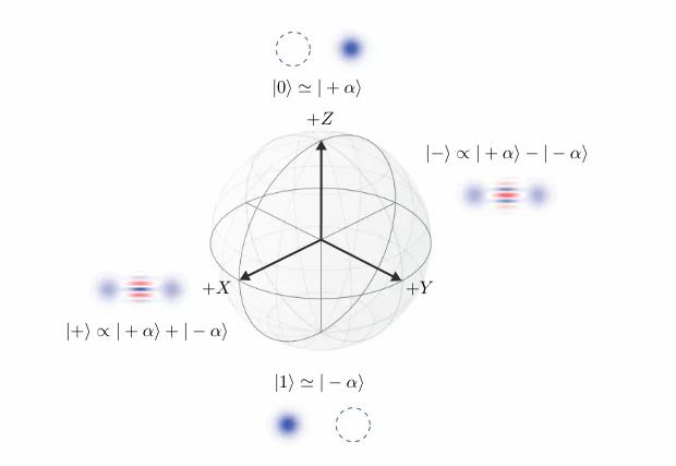 Flea sphere for Schrodinger's cats / Chamberland et al. / arXiv.org, 2020