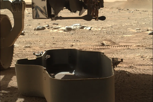 NASA's new Mars rover is about to give birth to a tiny helicopter