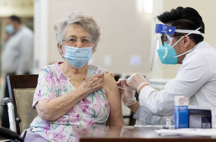 Nursing Homes Are Seeing COVID-19 Cases Drop Due To Vaccines, Federal Officials Say