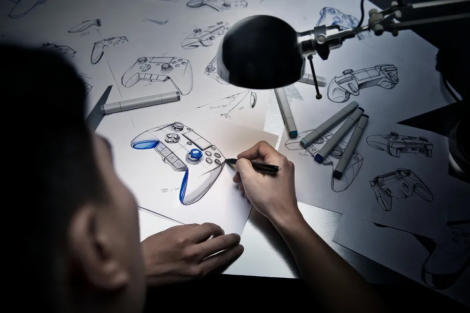 Designs for a video game controller