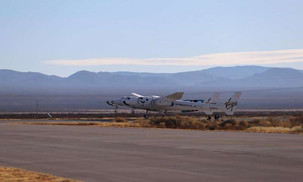 Virgin Galactic makes the first flight from the New Mexico site