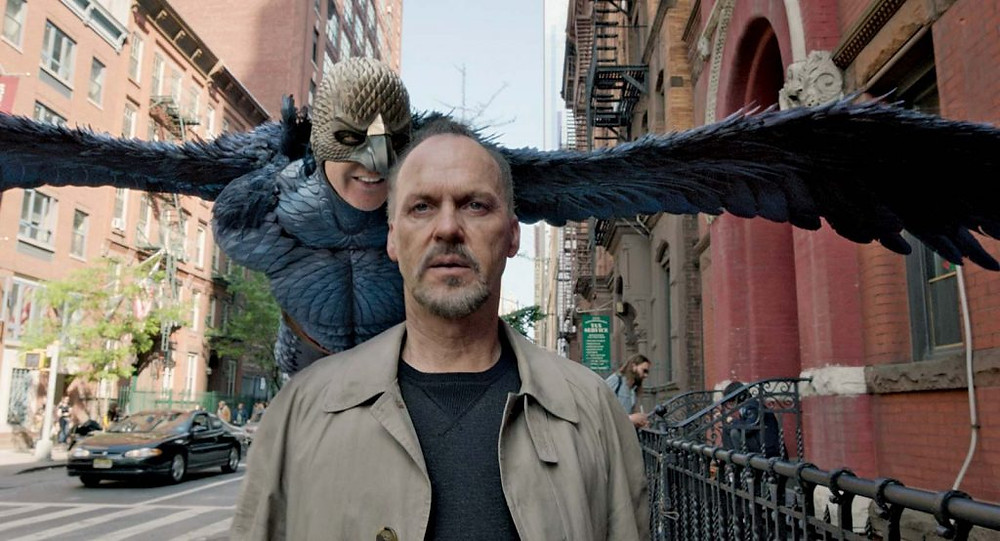 Footage from the film Birdman