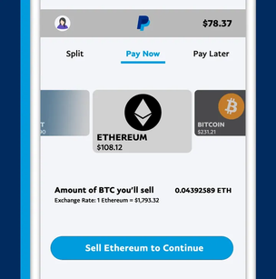 PayPal will allow US users to pay with Bitcoin, Ethereum and Litecoin starting today