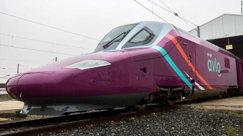 © Courtesy Renfe Spain's Avlo administration will go at velocities of as much as 330 kilometers for every hour.