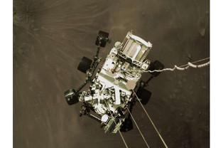 Mars landing group 'awestruck' by photograph of sliding meanderer