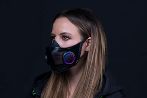 Razer actually makes its own concept of RGB face mask