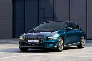 The first electric car of the Genesis is much less exciting than its EVs concept