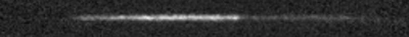 The simple dark opening made by the specialists. Credit: Kolobov et al.