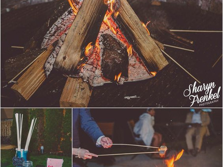 Upgrade of the Week: Lakeside Bonfire Pit & S'mores!