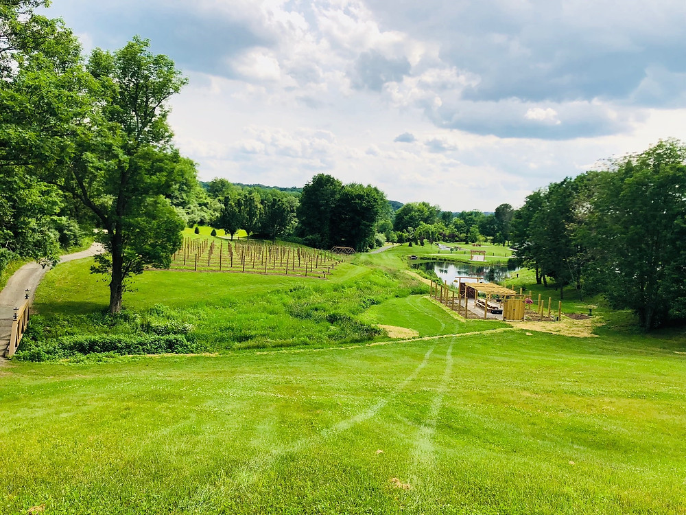 The grounds at Bear Brook Valley
