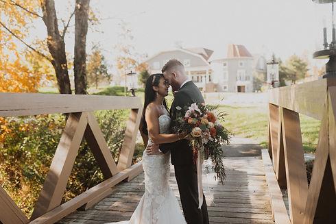 Bridge Bride Groom Fall Leaves.jpg
