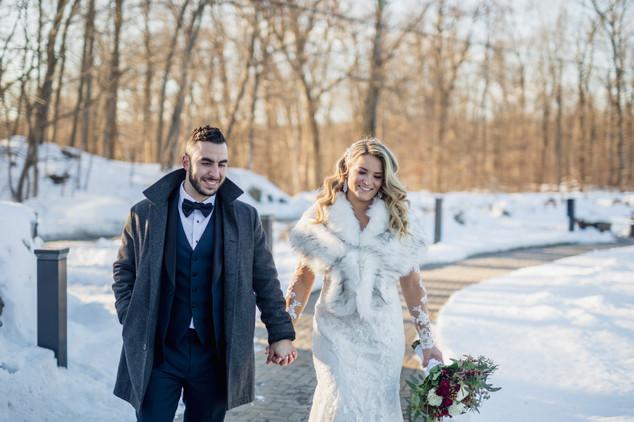 Snowy Wedding in NJ