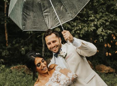 Our Favorite Rainy Wedding Day Photos