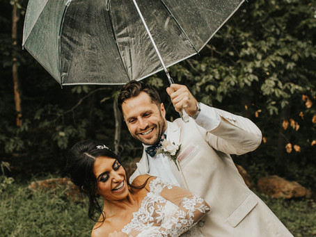 Our Favorite Rainy Wedding Day Photos