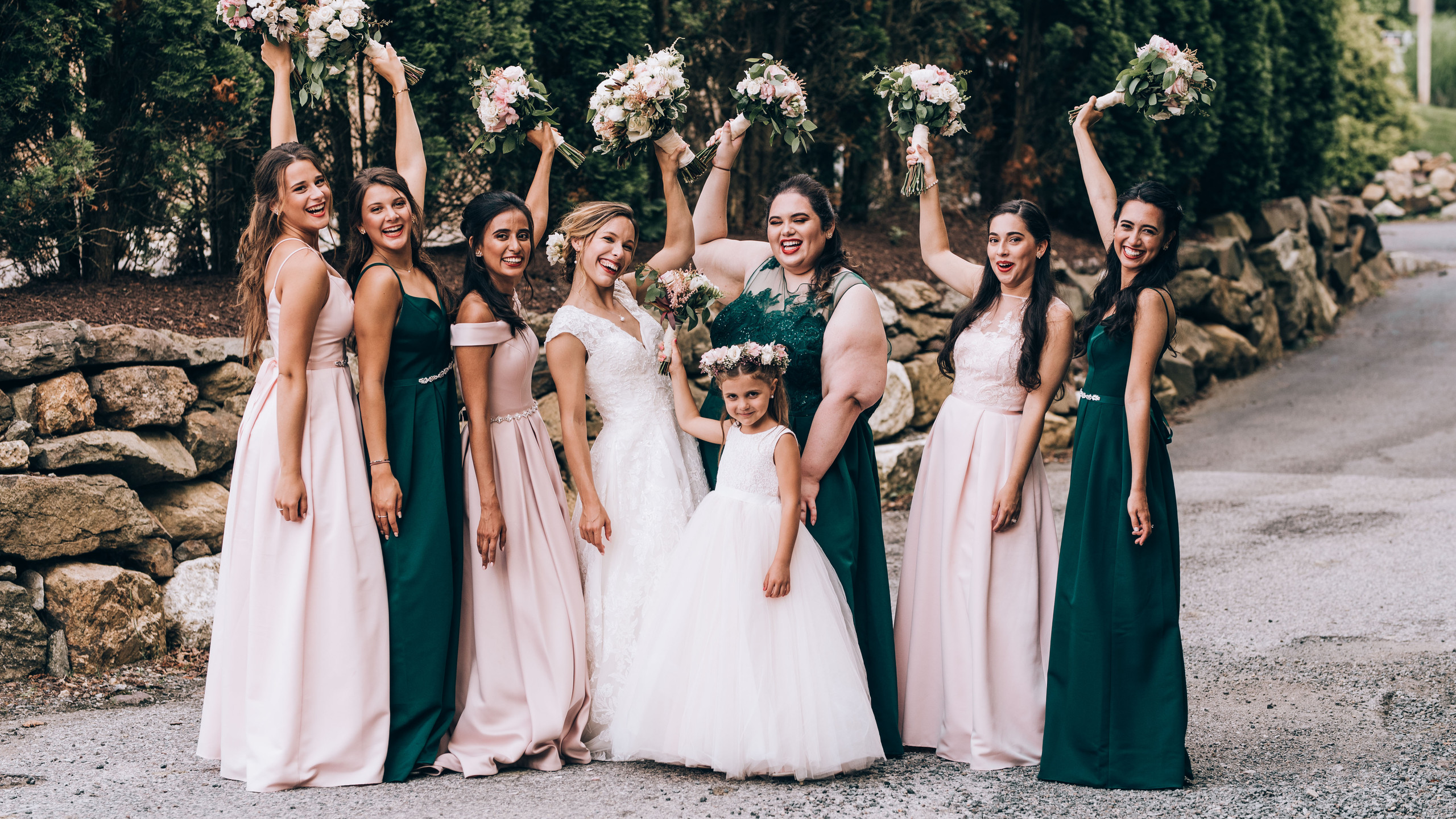 Bridal Party Woods