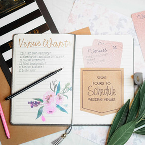 How to Stay Organized During Wedding Planning!