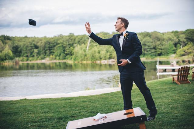 Cornhole Wedding Game NJ