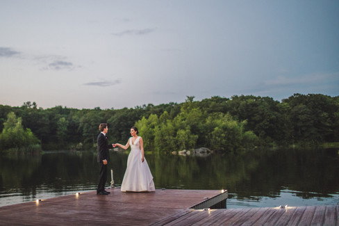 Lakefront Wedding Venue with Views in NJ